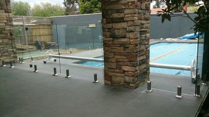 Glass Pool Fencing Melbourne - Frameless Glass In PAHRAN