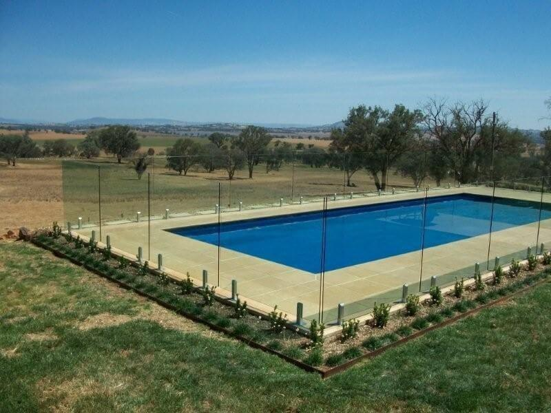 Glass Pool Fencing Melbourne - Frameless Glass In MALVERN