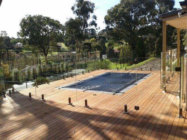 Glass Pool Fencing Melbourne - Frameless Glass In CAULFIELD