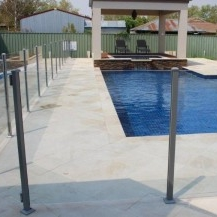 Glass Pool Fencing Melbourne - Semi Frameless Glass KEW