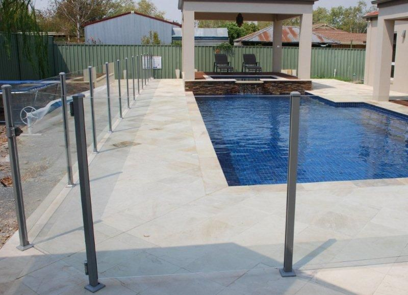 Glass Pool Fencing Melbourne - Semi Frameless Glass KEW