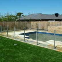 Glass Pool Fencing Melbourne - Semi Frameless Glass Toorak