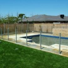 Glass Pool Fencing Melbourne - Semi Frameless Glass Toorak