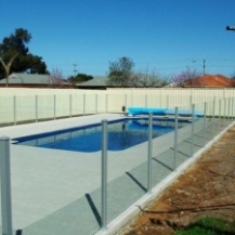 Glass Pool Fencing Melbourne - Semi Frameless Glass