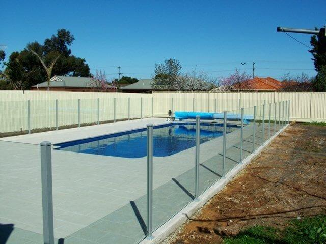 Glass Pool Fencing Melbourne - Semi Frameless Glass