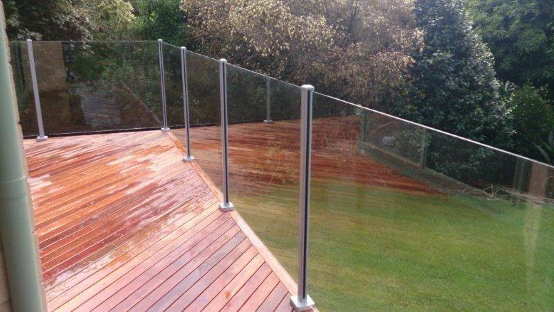Glass Pool Fencing Melbourne - Semi Frameless Glass Malvern