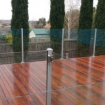Glass Pool Fencing Melbourne - Semi Frameless Glass Brighton