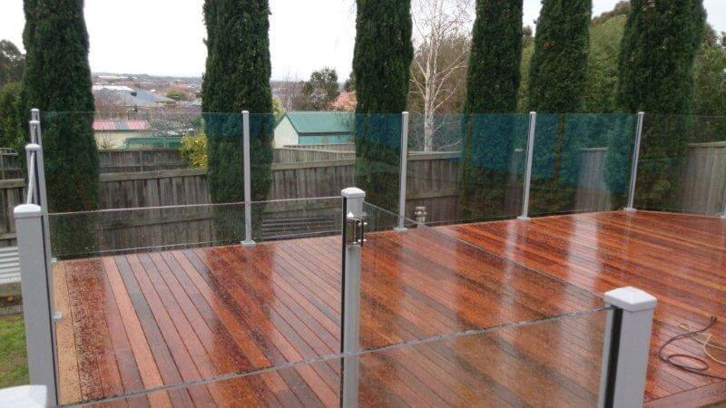Glass Pool Fencing Melbourne - Semi Frameless Glass Brighton