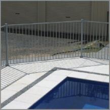 Glass Pool Fencing Melbourne - Aluminium