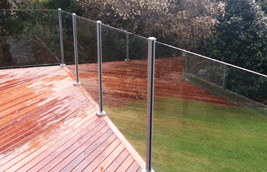 SEMI-FRAMELESS GLASS Pool Fencing - Melbourne