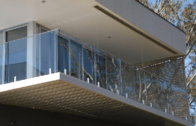 Glass Pool Balustrade - Melbourne