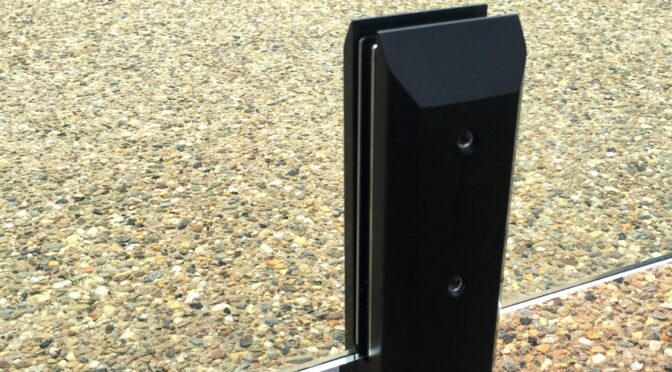 Black Satin Mini Posts Safety Has Never Looked So Good