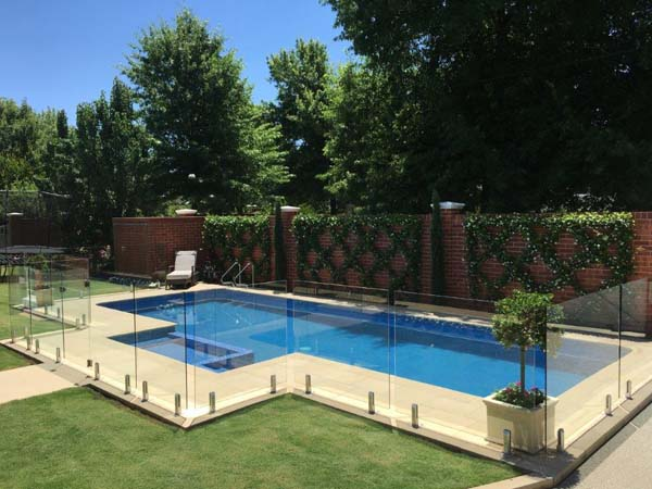 Glass Pool Fencing Melbourne - Handrail